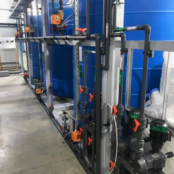 Станция дезинфекции воды