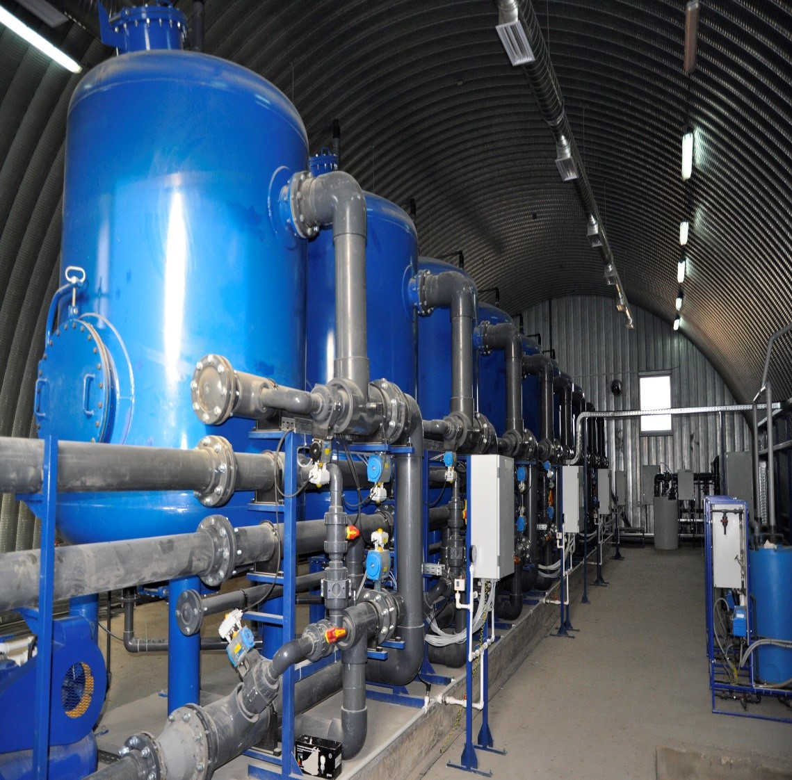 Оборудование водоочистки